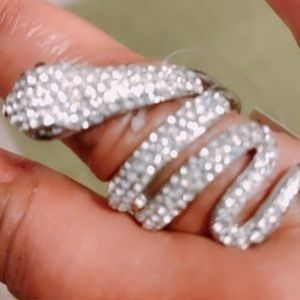 Just Bling it Snake ring
